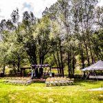 Pergola Decorated and Tent