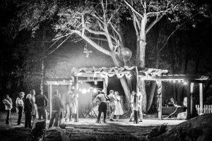Pergola Dance Floor