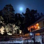 The Boulders Under a Super Blue Moon