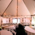 Tables and Chairs for Early May Wedding
