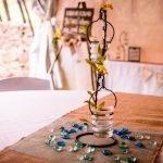 Centerpiece on Wedding Table