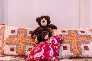 Josie, one of the Jubilee Suite bears