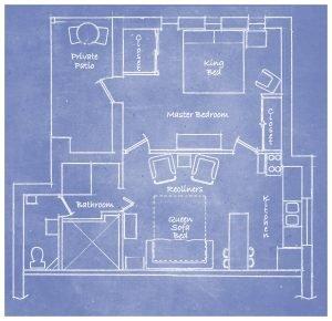 Daisy Suite Floor Plan