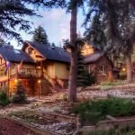 Summer Evening At The Lodge