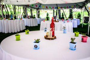 Wedding decorations for reception