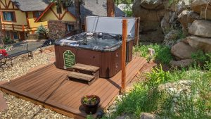 New Hot Tub and New Deck