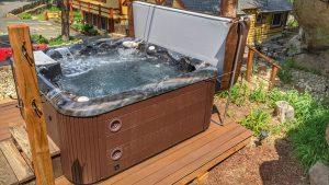 New Hot Tub Bubbling