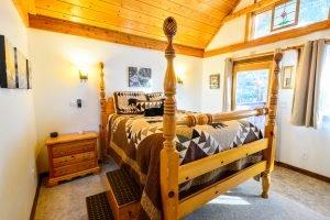 Lofted Queen Bed in Enchanted