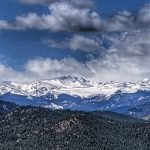 Mount Evans from Panorama Point in Corwina Park