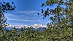 Mountain View Along the Western Ridge Trail