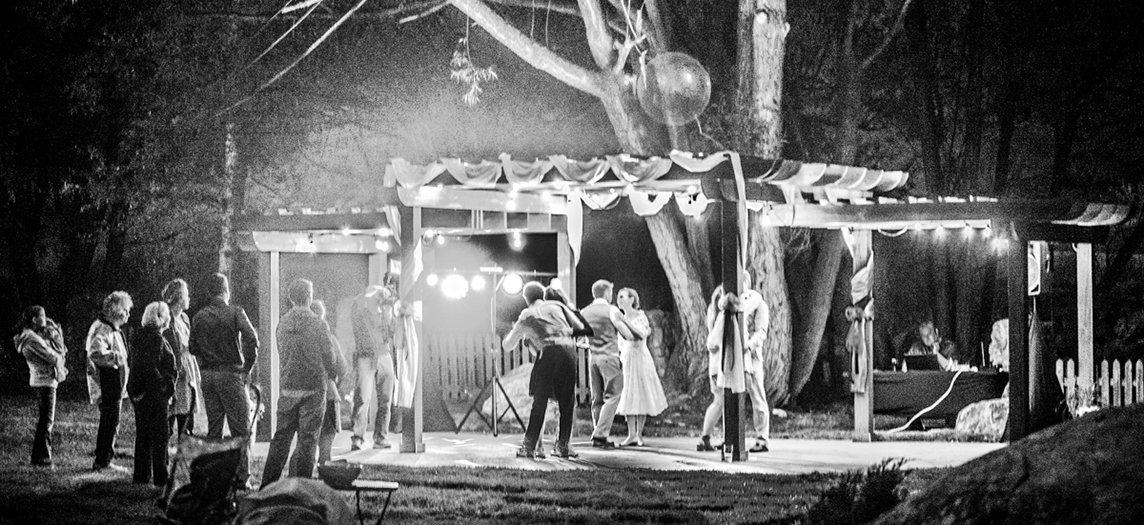 Pergola As Dance Floor - Home Slider