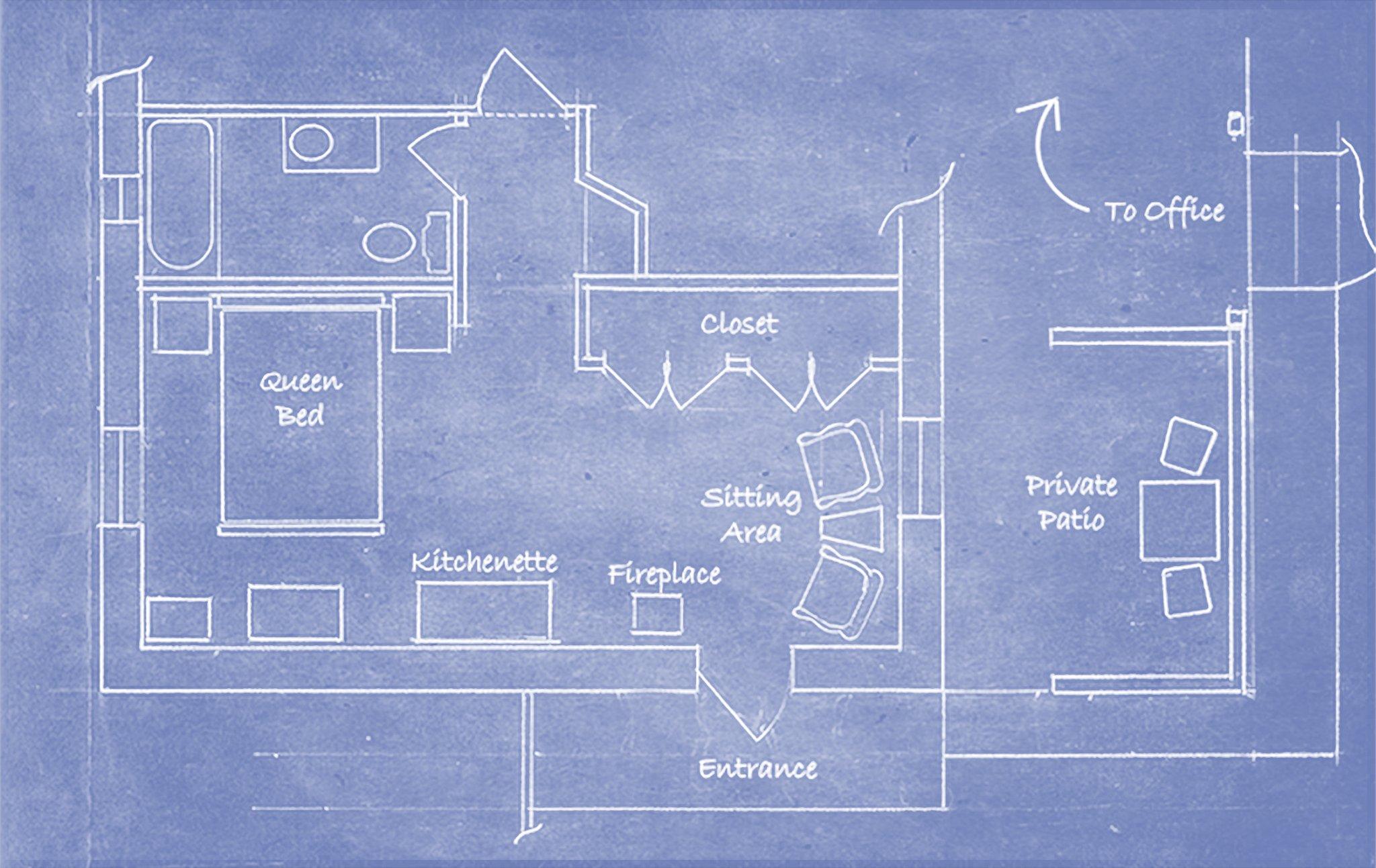 Farmhouse Room Floor Plan