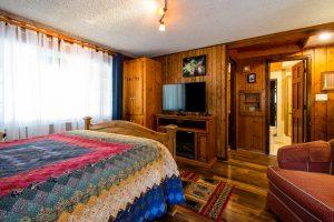 Bountiful Cabin Master Bedroom